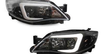 "2008-2011 Subaru Impreza / 2008-2014 Impreza WRX White ""C"" LED Light Bar Projector Headlight with Clear Corner Reflector (USR Special Edition) For Stock Halogen Models-Lighting-Unique Style Racing- Description #matty {padding: 10px;width: 100%;height: auto; background-color: #eeeeee;}#matty p{font-family: Gotham, ""Helvetica Neue"", Helvetica, Arial, ""sans-serif"";font-size: 13px;}#matty h1{font-family: Gotham, ""Helvetica Neue"", Helvetica, Arial, ""sans-serif"";font-size: 18px; color: #CC9900;}#matt"