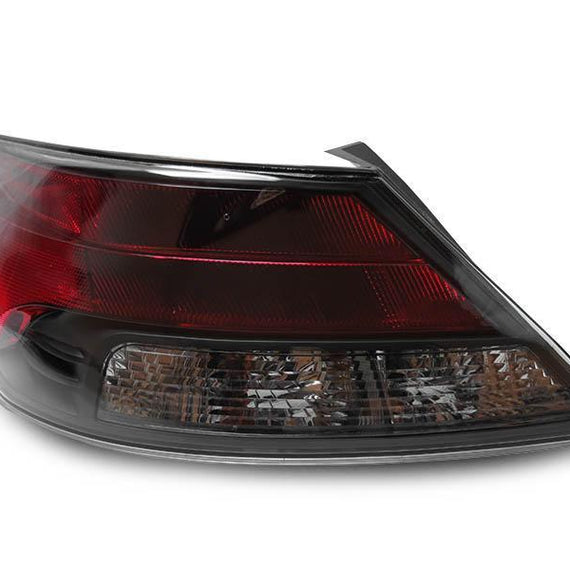 2009-2014 Acura TL All Smoke or Black Trim / Red Smoked LED Rear Tail Light Set Made by DEPO