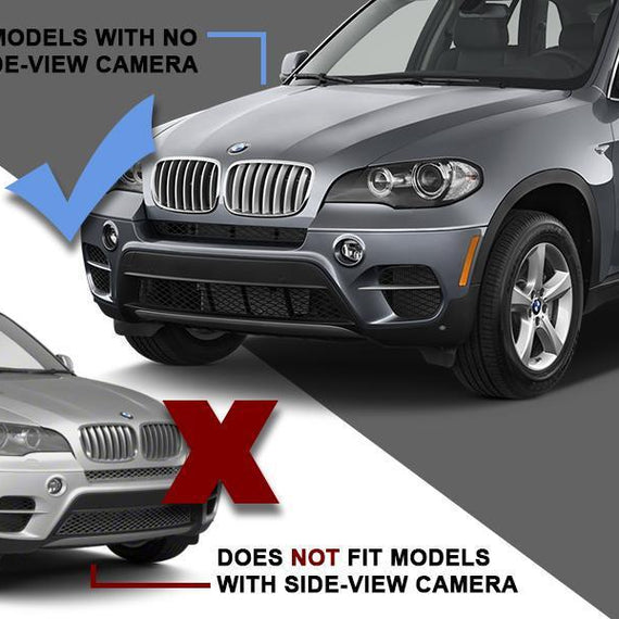 2011-2013 BMW X5 E70 No Side Camera DEPO Clear or Smoke Front Bumper Reflector Light
