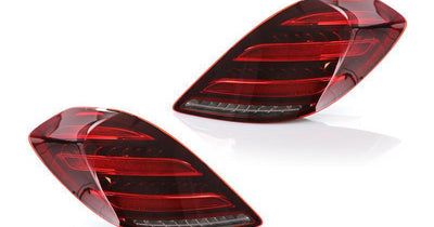 "2014-2017 Mercedes S Class W222 Maybach AMG USA FACELIFT Plug & Play Red Lens Full LED Tail Light Set-Lighting-DEPO- #matty { padding: 10px; width: 100%; height: auto; background-color: #eeeeee; } #matty p{ font-family: Gotham, ""Helvetica Neue"", Helvetica, Arial, ""sans-serif""; font-size: 13px; } #matty h1{ font-family: Gotham, ""Helvetica Neue"", Helvetica, Arial, ""sans-serif""; font-size: 18px; color: #CC9900; } #matt { padding: 10px; width: 100%; height: auto; background-color: #ffffff; } #matt p"