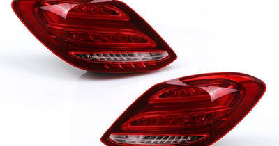 "2015-2018 Mercedes Benz W205 C Class 4D Sedan AMG-Style Red/Clear Full LED Tail Lights-Lighting-DEPO- Description #matty { padding: 10px; width: 100%; height: auto; background-color: #eeeeee; } #matty p{ font-family: Gotham, ""Helvetica Neue"", Helvetica, Arial, ""sans-serif""; font-size: 13px; } #matty h1{ font-family: Gotham, ""Helvetica Neue"", Helvetica, Arial, ""sans-serif""; font-size: 18px; color: #CC9900; } #matt { padding: 10px; width: 100%; height: auto; background-color: #ffffff; } #matt p{ f"