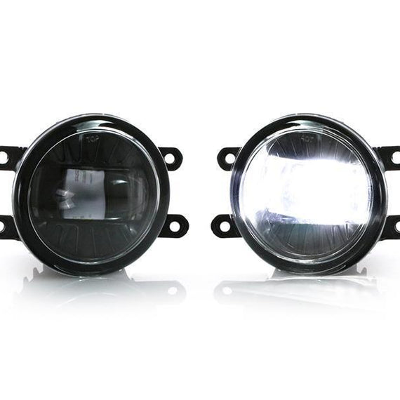 2016-2019 Toyota Tacoma / 2014-2018 Toyota Tundra Black Housing Plug & Play Projector CREE LED Fog Light Assembly