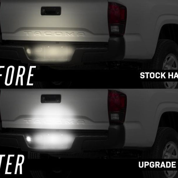 2016-2021 Toyota Tacoma 2020+ TRD PRO Style Black Out Rear Tail Lights Made by DEPO