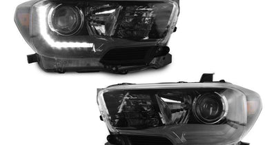 "2016-2020 Toyota Tacoma LED DRL TRD Pro Style DEPO Black Projector Headlights For With or Without factory LED DRL models-Lighting-DEPO- Description #matty {padding: 10px;width: 100%;height: auto; background-color: #eeeeee;}#matty p{font-family: Gotham, ""Helvetica Neue"", Helvetica, Arial, ""sans-serif"";font-size: 13px;}#matty h1{font-family: Gotham, ""Helvetica Neue"", Helvetica, Arial, ""sans-serif"";font-size: 18px; color: #CC9900;}#matt {padding: 10px;width: 100%;height: auto; background-color: #ff"