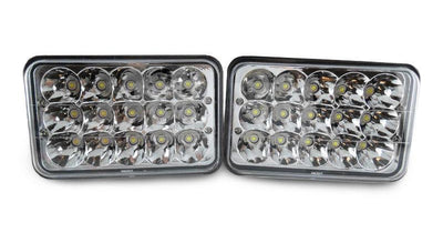 "Sealed Beam Conversion Headlight - Full LED - 4x6 x4 + Wire H4656 Low Beam x2 + H4651 x2 High Beam-Lighting-Unique Style Racing- Description #matty {padding: 10px;width: 100%;height: auto; background-color: #eeeeee;}#matty p{font-family: Gotham, ""Helvetica Neue"", Helvetica, Arial, ""sans-serif"";font-size: 13px;}#matty h1{font-family: Gotham, ""Helvetica Neue"", Helvetica, Arial, ""sans-serif"";font-size: 18px; color: #CC9900;}#matt {padding: 10px;width: 100%;height: auto; background-color: #ffffff;}#"