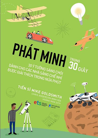 Phat Minh Trong 30 Giay - Tac Gia: TS Mike Goldsmith - Book