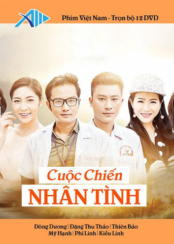 Cuoc Chien Nhan Tinh - Tron Bo 12 DVDs - Phim Mien Nam