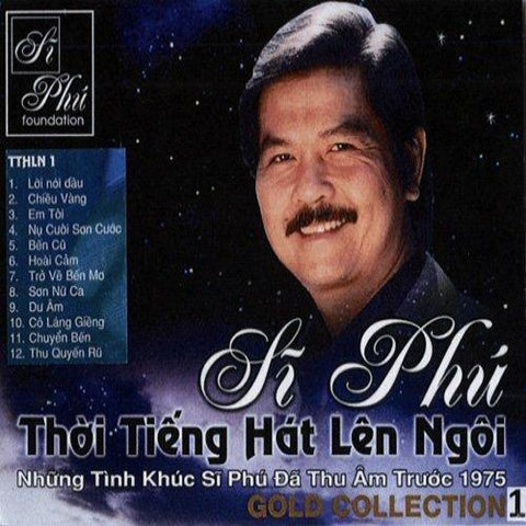 Si Phu - Gold Collection 1 - CD Nhac Vang Truoc 1975