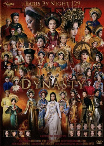 Paris By Night 129 - Dynasty - 3 DVDs