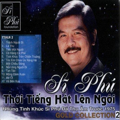Si Phu - Gold Collection 2 - CD Nhac Vang Truoc 1975