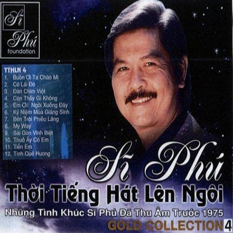 Si Phu - Gold Collection 4 - CD Nhac Vang Truoc 1974