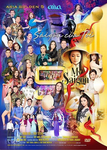 ASIA Golden 5 - Saigon Cua Toi 2 DVDs & 2 CDs