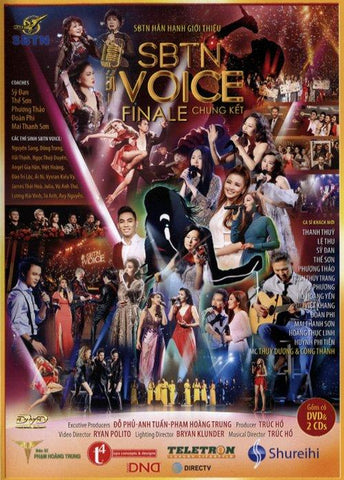 SBTN Voice Final - Chung Ket - 2 DVDs + 2 CDs