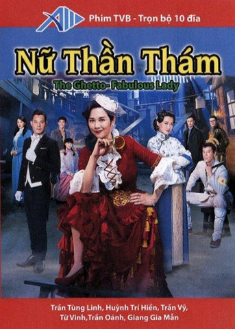 Nu Than Tham - Tron Bo 10 DVDs - Long Tieng