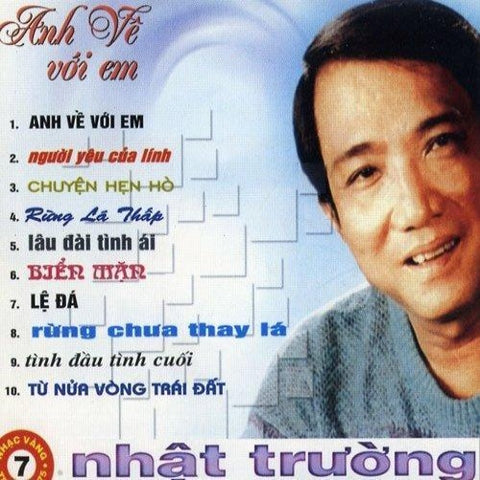 Nhat Truong - Anh Ve Voi Em - CD