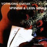 CD Vo Thuong Guitar 58 - Spanish & Latin Songs