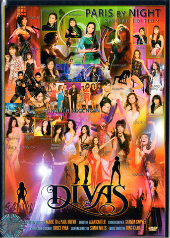 Paris by Night Special Edition - DIVAS - 2 DVDs