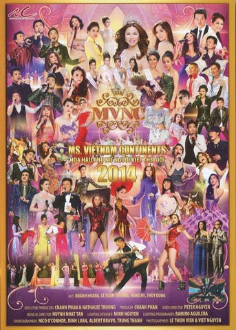 Ms. Vietnam Continents - Hoa Hau Phu Nu Nguoi Viet The Gioi 2014 - 2 DVDs