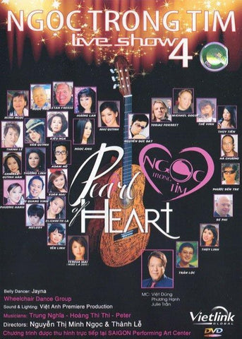 Live Show Ngoc Trong Tim 4 - Pearl Of Heart - DVD