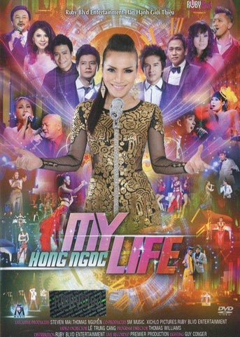 Live Show Hong Ngoc - My Life - 2 DVDs