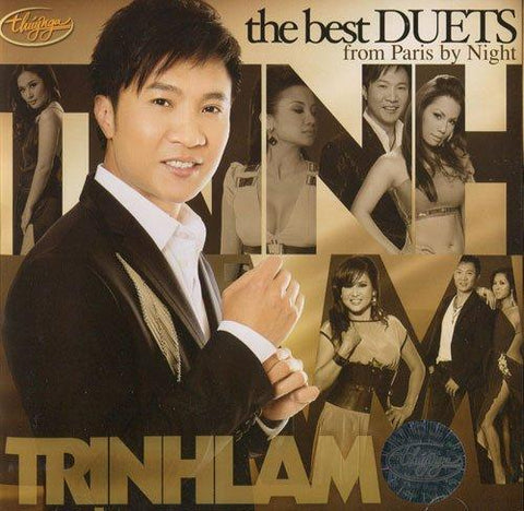 Trinh Lam - The Best Of Duets - CD Thuy Nga