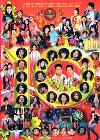 Do Thanh 10th Anniversary - 3 DVDs
