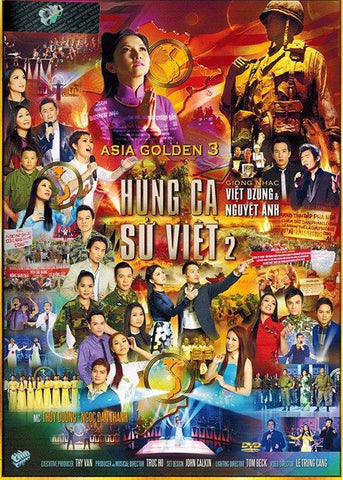 Asia Golden 3 - Hung Ca Su Viet 2 - DVD