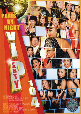 Paris By Night 104 VIP PARTY - 2 DVDs ( No FREE )