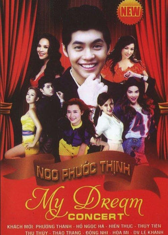 Noo Phuoc Thinh - My Dream Concert - 2 DVDs