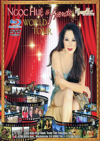 Ngoc Hue & Friends - World Tour - DVD + BLU-RAY