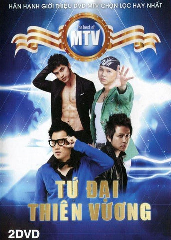 Tu Dai Thien Vuong - 2 DVDs MTV