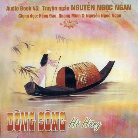 CD Audio Book - Nguyen Ngoc Ngan - Dong Song Ho Hung