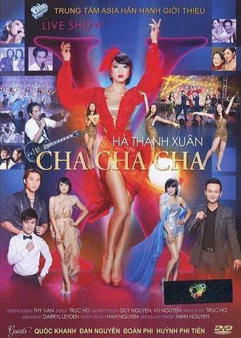 Live Show Ha Thanh Xuan - Chachacha - Asia DVD