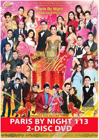 PBN 113 DVD - Mung Tuoi Me - 2 DVDs