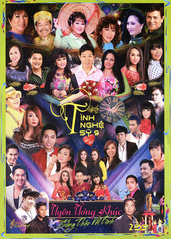 Tinh Nghe Sy 9 - Song Thac Voi Tinh - 2 DVDs