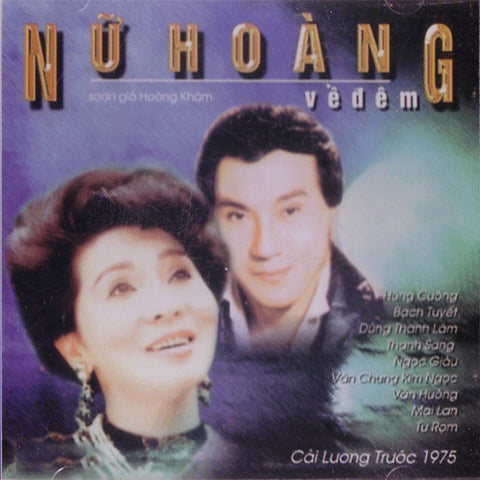 Nu Hoang Ve Dem - CD