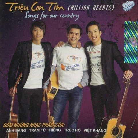 Asia CD - Trieu Con Tim - Million Hearts