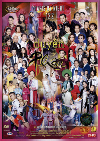 Paris By Night 122 - Duyen Phan - 3 DVDs
