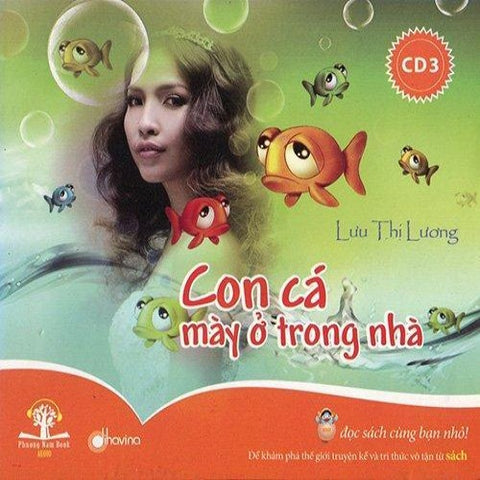 Con Ca May O Trong Nha 3 - CD Audio Book