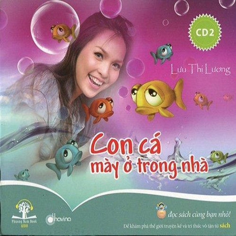 Con Ca May O Trong Nha 2 - CD Audio Book