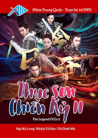 Thuc Son Chien Ky II - Tron Bo 16 DVDs - Long Tieng