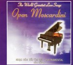 CD - The World Greatest Love Song - Open Moscardini