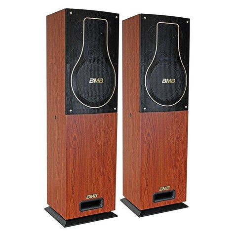 BMB CSH-200 - 2 x 300Watts Speakers + CSH-Subwoofer - 200 Watts - FREE Speaker Cables - Model 2021