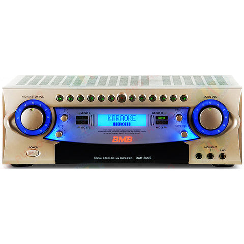 BMB DAR-800 II 600W 4-Channel Karaoke Mixing Amplifier - Model 2020