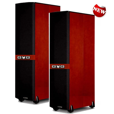 BVB VS-100MKII - 3000 WATT -PROFESSIONAL VOCALIST CHERRY WOOD KARAOKE SPEAKER - MODEL 2020 ( PAIR )
