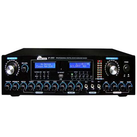 IDOLmain IP-2900 Professional Digital Key Control-Echo w- Recording - Bluetooth - HDMI- Vocal Enhancer Karaoke Mixer - MODEL 2021