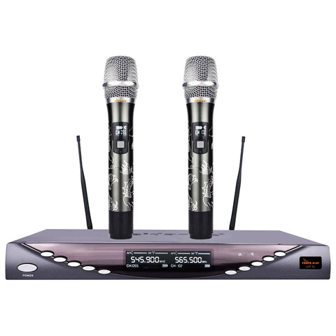 IDOLmain UHF-X1D Dragon Engraved-Limited Edition Professional Performance With Anti Feedback,Ultra Low Distortion ( Model 2021 )