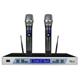 IDOLpro UHF-310 Professional Intelligent Dual Wireless Auto Noise Cancellation Microphone System - NEW 2020