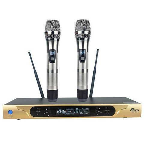 ( OPEN BOX - LIKE NEW ) IDOLpro UHF-626 Dual Channel Wireless Microphones With New Digital Technology NEW 2021