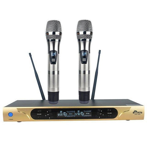 IDOLpro UHF-626 Dual Channel Wireless Microphones With New Digital Technology NEW 2020